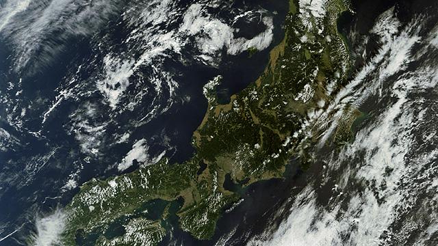 Hokkaido, Honshu, Shikoku and Kyushu