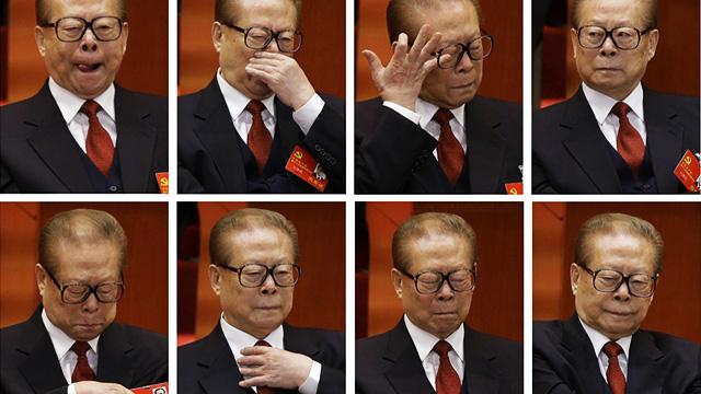 "The Jiang Zemin ""Bored as Shit"" 2013 Calendar"