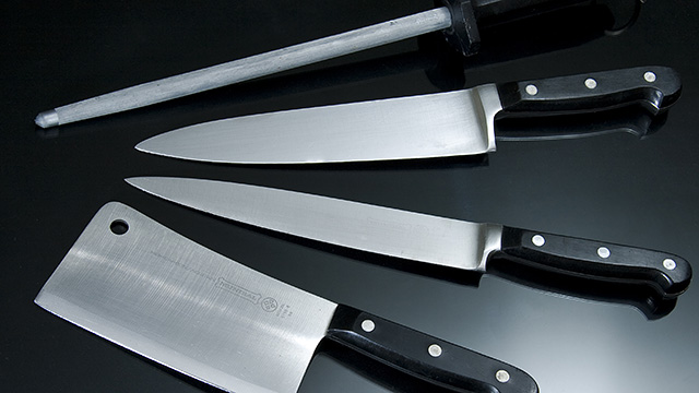 All kinds of knives
