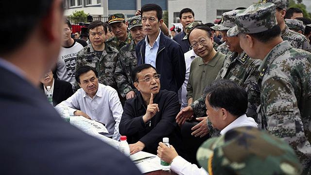 Li Keqiang in Sichuan
