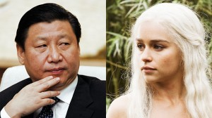 Xi and Daenerys