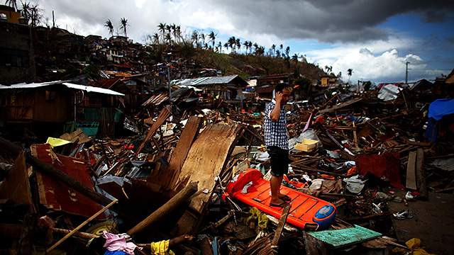Aftermath of Typhoon Haiyan